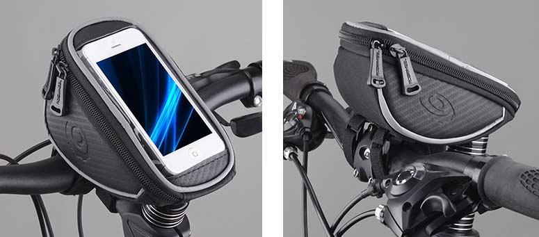 supporto per bicicletta porta smartphone / ciclocomputer