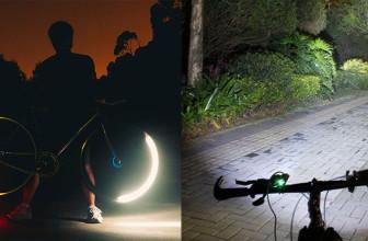 Luci per bicicletta: fari anteriori, posteriori e luci da ruota